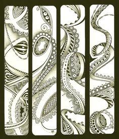 Enthusiastic Artist: ZIA Bookmarks Als dit geen kunst is...!!