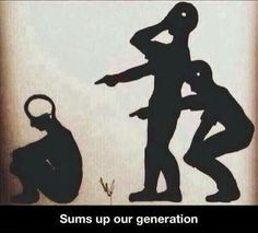 Dose not sum a generation. But sums socioty.
