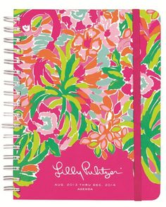 Lilly Pulitzer Large Agenda in Lulu $28