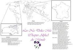 Une belle carte de nos sœurs dans le monde :) Casablanca, Bullet Journal, World
