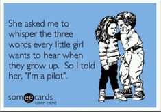 Oh how lovely this would be.... someone I know needs to become a pilot! :)