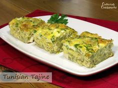 Foods from the Islamic World: Tunisian Tajine. Quiche lovers, this dish is for you!