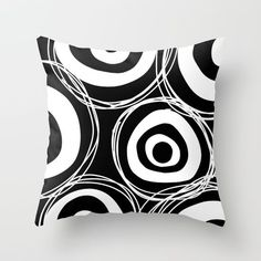 Doodles by Dafalex @society6 #throw #pillow #black #white #blackandwhite #home #decor #apartment #homedecor #college #dorm #room #sophomore #year #products #products #chic #fashion #style #gift #idea #society6 #design #shop #shopping #buy #sale #fun #accessory #accessories #art #contemporary #cool #hip #awesome  #sweet
