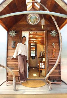 Artist's remarkable tiny home tells a profound life story