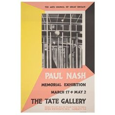 Tate vintage poster reproduction - Paul Nash