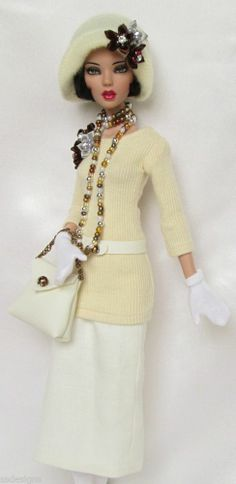 "EMMA JEAN'S CHIC FOR SPRING! (1920s).FOR 16""TONNER DEJA VU.MADE BY SSDESIGNS"