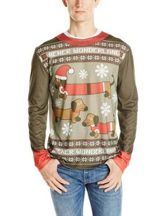 Christmas Shopaholic: Hilarious Men's Christmas Shirts from Faux Real