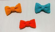 Papillon unisex coloratissimi fatti all'uncinetto lana by Theart2