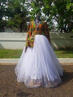 Dashiki Prom Dress, African Dashiki Dress, African Prom Dresses, African Dresses For Women, African Fashion Dresses, African Women, Women's Dresses, Pakistani Wedding Dresses, Wedding Hijab