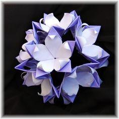 Video Tutorial: Modular origami passion flower ball!!