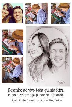 AQUINO: Desenho ao vivo / Live Drawing