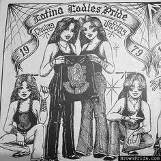 Latin Ladies Pride - Teen Angeles Magazine Art