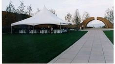 40 X 40 Tent for Corporate Event at a Mission Hill Winery by All Occasions Party & Event Rentals Kelowna, BC