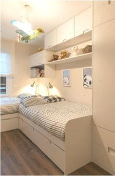 Toddler Rooms, Bunk Beds, Improve Yourself, Furniture, Home Decor, Bedrooms, Refurbishment, Wall Design, Interior Architecture