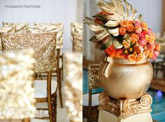 WedLuxe: Queen of the Nile - Inspired by Cinema