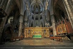 High altar and sacrarium