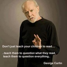 George Carlin pinned with Pinvolve