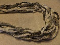 Arm Knitting Sashay Yarn - Scarf - YouTube