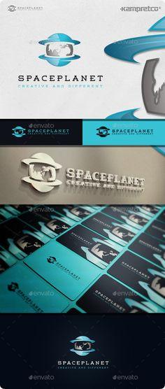 Space Planet Logo Template #design #logotype Buy Now: http://graphicriver.net/item/space-planet-logo/11506696?ref=ksioks