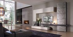 Collezione Horizon di #Mobilgam comp. 844 L.330  H.210  P.59-45-35 #soggiorno #sala #living