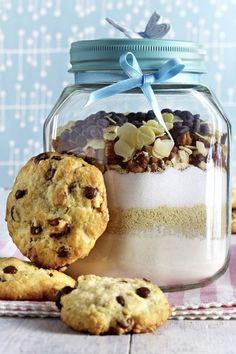 Cookies im Glas und andere leckere Geschenke aus der Küche
