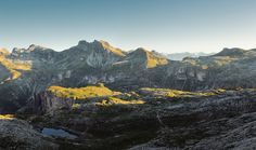 alp impressions IV by Lukas Furlan, via Behance