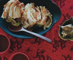 quick kimchi with asian pear: http://www.epicurious.com/recipes/food/views/Quick-Kimchi-351892        Quick Kimchi Recipe  at Epicurious.com