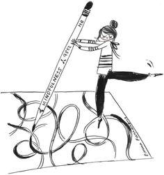 mindfulness-drawing-by-Emma-Farrarons.jpg (700×746)