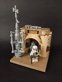 Lego Minifigure Display, Lego Display, Star Wars Art, Lego Star Wars, Lego Mandalorian, Starwars, Lego Clones, Micro Lego, Lego Pictures