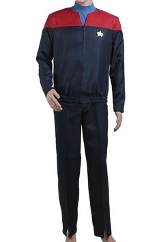 Halloween Costume Star Trek Voyager Kathryn Janeway Tom Paris Command Uniform…
