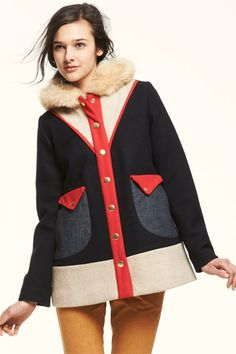 lauren moffatt.    @Katie Wolfe - i think you would look fantastic in this coat!  :O)