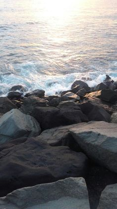 Las Palmas de Gran Canaria, , My Style - My Favorite, Strand Wallpaper, Her Wallpaper, Ocean Wallpaper, Wallpaper Backgrounds, Iphone Wallpaper, Applis Photo, Ocean Waves, Pretty Pictures, Beautiful Landscapes