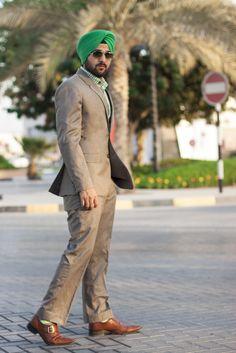 Sikh Men Fashion Style Urban Sardar Sikh Fashion Surjit Singh Linen Suits