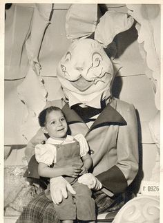 The Creepiest Easter Bunny Photos Ever Taken | Happy Place
