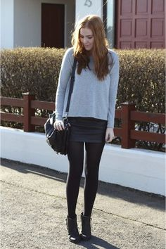 silver-knit-h-m-sweater-black-leather-forever21-skirt.jpg (300×450)
