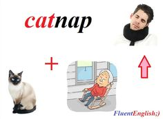 cat + nap = catnap! (сон урывками, короткий сон)  #английский #английскийвесело #английскийскайп #английскийразговорный #английскийслова #английскийонлайн #английскийчерезскайп #английскийрепетиторы #учитьанглийский #fluentenglish