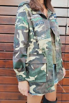 I Dress Your Style: PARKA CAMUFLADA BDBA!
