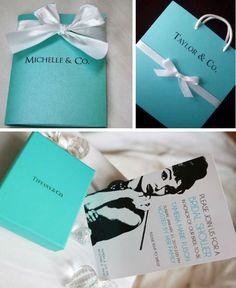 Referências e ideias de decoração e comidinhas nas cores da caixa mais cobiçada entre as noivas.