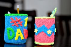 fathers day pencil holder gift for kids {tutorial} | Little Birdie Secrets