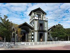 Luxury Vacation Rental Property. Chatham House. Seaside, Florida.
