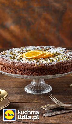 Hiszpańskie ciasto czekoladowe z pomarańczą. Kuchnia Lidla - Lidl Polska. #lidl #pawel #ciasto