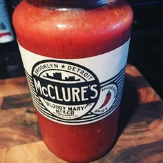Next mix to try and review! #njbloodymary  @mcclurespickles #bloodymary