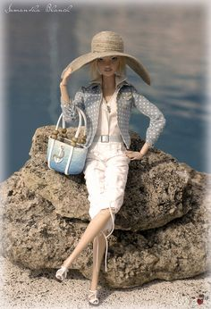 Hat and bag by JSW DOLLS
