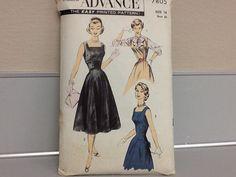 Advance Misses Dress Pattern by ThePuppyDogTails on Etsy