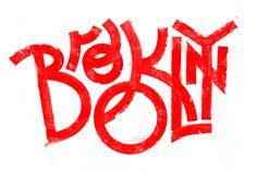 """Brooklyn"" type lettering by Andrei Robu. (www.robu.co)"
