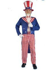 Adult Patriotic Costumes for Men and Women If you're feeling patriotic for the 4th of July, Memorial Day or Halloween, then you're going to want to show up to the party or the parade dressed in your patriotic costume!   You'll find