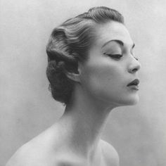 vintage, black and white, and jean patchett afbeelding