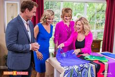 Lifestyle expert Kym Douglas featured NAYAD on the Hallmark Channel's Home  Family Morning Show as a perfect swimsuit for EVERY body type. #HomeFamily #YR #NayadAquaSportswear
