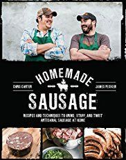 Booktopia has Homemade Sausage, Recipes and Techniques to Grind, Stuff, and Twist Artisanal Sausage at Home by James Peisker. Buy a discounted Paperback of Homemade Sausage online from Australia's leading online bookstore. Irish Sausage, Best Sausage, Sausage Spices, Summer Sausage, Off Grid, Charcuterie, Hp Sauce, Chorizo, Bangers Recipe