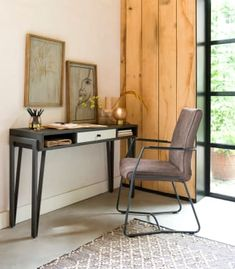 Montpellier, wandtafel 120 x 40 cm + + Montpellier, Consoles, Design Moderne, Spring Sale, Acacia Wood, Wood And Metal, Console Table, Decoration, Console